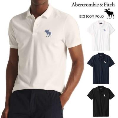 アバクロ ポロシャツ メンズ 半袖 ビッグムース Abercrombie&Fitch