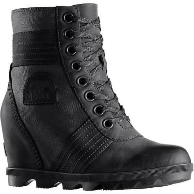ソレル ブーツ&レインブーツ レディース シューズ Sorel Women's Lexie Wedge Boot Touchy - Black