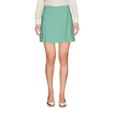 ツインセット シモーナ バルビエリ TWINSET ミニスカート ライトグリーン XL 100% ポリエステル ミニスカート