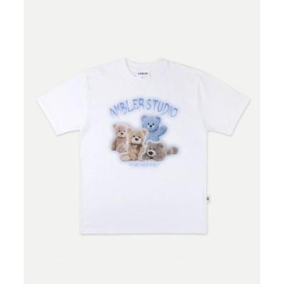 tシャツ Tシャツ 【ambler 】ベアワールドティーシャツ AS813