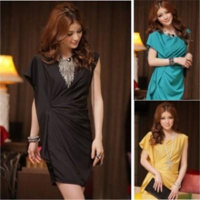 即納 ミニドレス キャバドレス ドレスキャバ ミニ ワンピース パーティードレス 袖付き タイトドレス 大きいサイズ