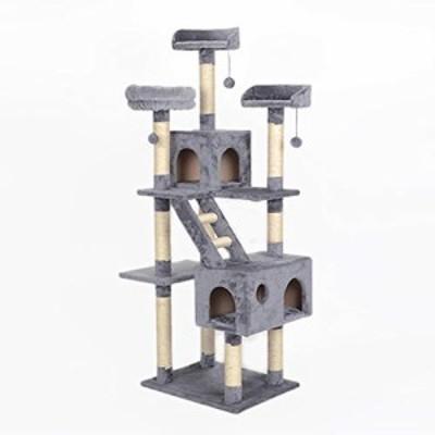 キャットタワー キャットクライミングフレーム ネコハウス 猫 おもちゃ 猫 (新古未使用品)