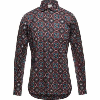 プリモエンポリオ PRIMO EMPORIO メンズ シャツ トップス patterned shirt Brick red
