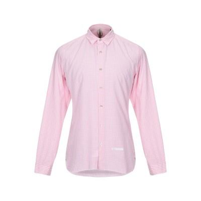 DNL シャツ ピンク 40 コットン 100% / ナイロン シャツ