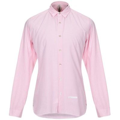 DNL シャツ ピンク 39 コットン 100% / ナイロン シャツ