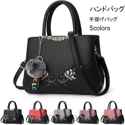 ハンドバッグショルダーバッグ手提げバッグ斜め掛けレディース黒カバン2way鞄上品質OL通勤シンプル20代30代40代50代