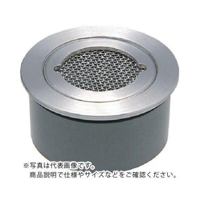 カクダイ VP・VU兼用ステンレス防虫目皿(接着式) ( 4247-40 ) (メーカー取寄)