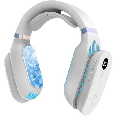 Hazida 2021年最新モード ネッククーラー ネック 暖房 冷却/加熱2in1 首掛け mini ネック冷却クーラー ウェアラブルエアコン ハン