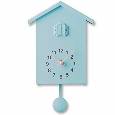 HUILISM 鳩時計 掛け時計 置き時計 振り子時計 アナログ リビング かわいい 北欧 ハト時計 はと時計 壁掛け カッコウ時計 カッコー時計