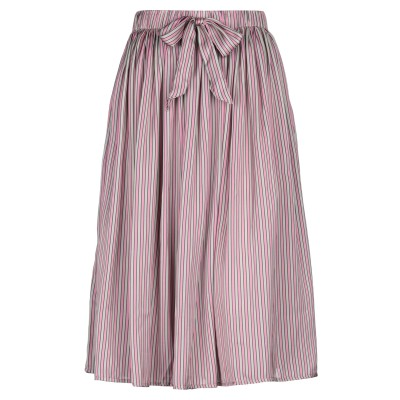 サンシックスティエイト SUN 68 7分丈スカート ピンク L ポリエステル 100% 7分丈スカート
