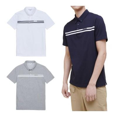 エーグル AIGLE ストリピポ 半袖ポロシャツ 半袖 メンズ ZPHJ573