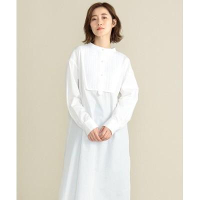 (SHARE PARK/シェアパーク)【洗える】ドレスシャツワンピース/レディース ホワイト系