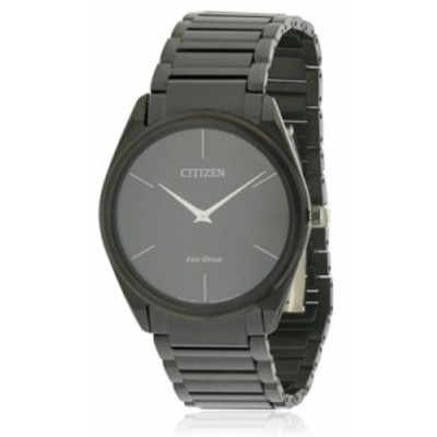 シチズン 腕時計 Citizen Eco-Drive Stiletto Black Stainless Steel Watch