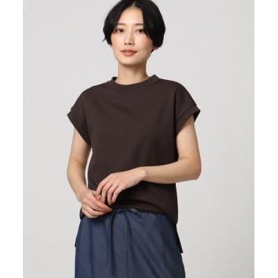 「L」【洗える】テックリノジャージフレンチTシャツ