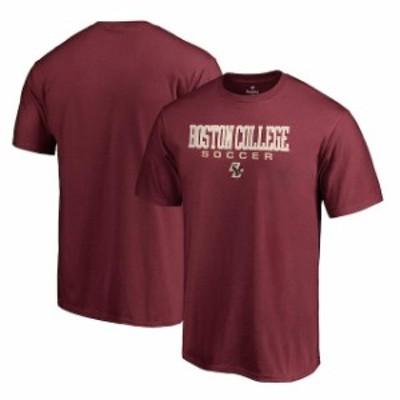 Fanatics Branded ファナティクス ブランド スポーツ用品  Fanatics Branded Boston College Eagles Maroon True Sport Soccer T-Shirt