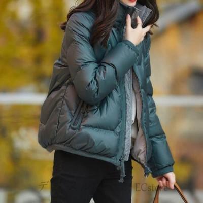 中綿コート レディース 40代 20代 ショート 軽い 秋冬 アウター 厚手 中綿ジャケット パーカー ボア チュニック 防寒 暖かい 着痩せ 新品 OL