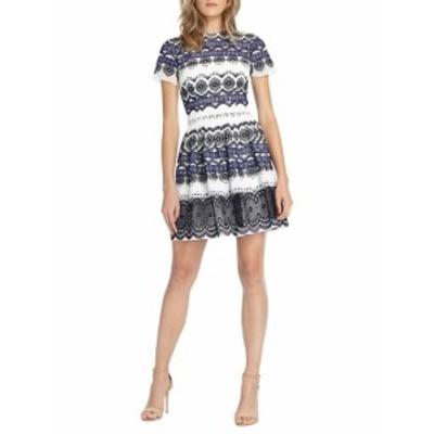 モニークリュエリエ レディース ワンピース Embroidered Chiffon Dress