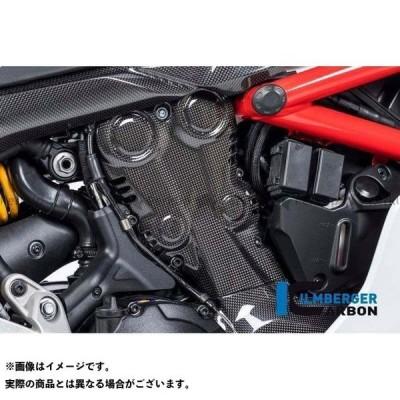 イルムバーガー スーパースポーツ スーパースポーツ S カムベルトカバー グロスカーボン - Ducati Supersport 939   ZAV…