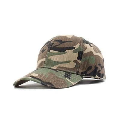 Zeelink 野球帽 メンズ レディース 調節可能 アーミー ミリタリー 迷彩キャップ 迷彩帽子 US サイズ: Medium カラー: ブラウン