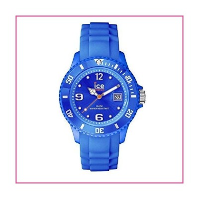 Ice-Watch Unisex 000125 Sili Collection Blue Plastic and Silicone Watch並行輸入品