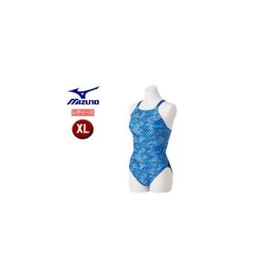 mizuno/ミズノ  N2MA8766-27 エクサースーツ ミディアムカット 【XL】 (ブルー)