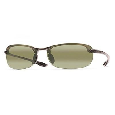 マウイジム メンズサングラス Maui Jim Makaha MauiReaders Universal Fit Sunglasses Smoke Grey / Maui HT +2.0 Add & Cleaning Kit Bundle