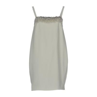 ビブロス BYBLOS ミニワンピース&ドレス ライトグレー 40 ポリエステル 100% ミニワンピース&ドレス