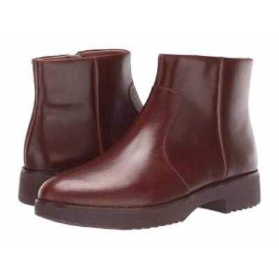 フィットフロップ レディース ブーツ&レインブーツ シューズ Maria Ankle Boot Chocolate Brown