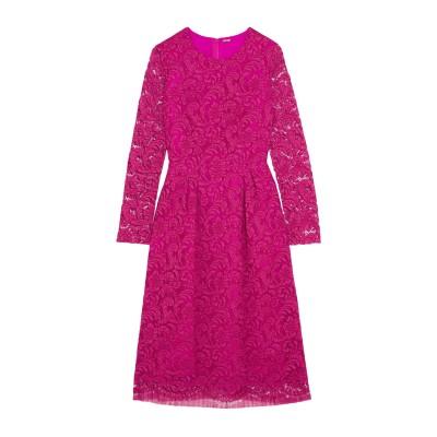 ADAM LIPPES 7分丈ワンピース・ドレス フューシャ 6 コットン 74% / レーヨン 18% / ナイロン 8% 7分丈ワンピース・ドレス