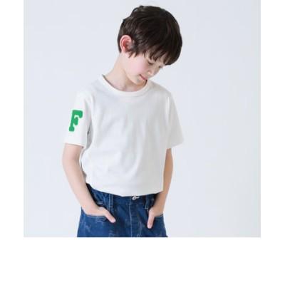 サガラ刺繍ワッペン付きTシャツ