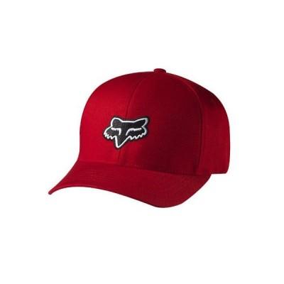 帽子 フォックス Fox Racing Men's Legacy Flexfit Hat Red Sports Moto-X Clothing Apparel
