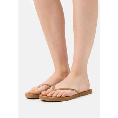 リーフ レディース 靴 シューズ BLISS NIGHTS - T-bar sandals - copper