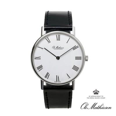 正規品 日本限定 オーレマティーセン 35mm Ole Mathiesen 腕時計 メンズ OMN020062 北欧 1962 クラシック