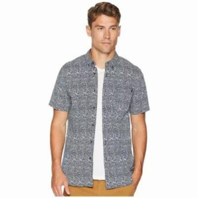 リップカール 半袖シャツ Modem Short Sleeve Shirt Navy