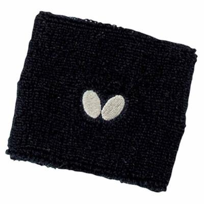 バタフライ 卓球ウェア(男女兼用)(ブラック) NL・リストバンド BUT-75660-278 返品種別A