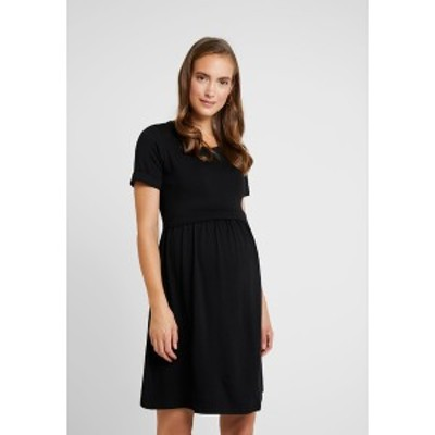 アンヴィ ド フレーズ レディース ワンピース トップス LIMBO - Jersey dress - black black