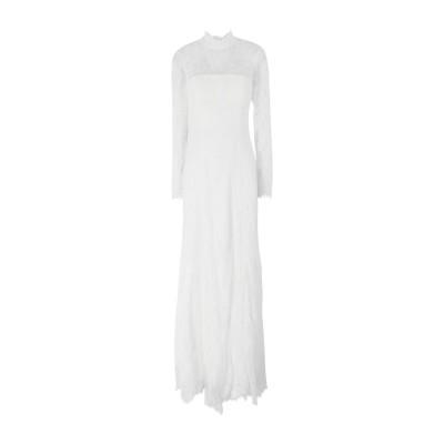 IVY & OAK ロングワンピース&ドレス ホワイト 36 ナイロン 100% ロングワンピース&ドレス
