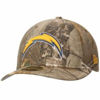 New Era ニュー エラ スポーツ用品  New Era Los Angeles Chargers Realtree Camo Low Profile 59FIFTY Hat