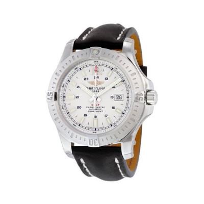 腕時計 ブライトリング Breitling Colt Stratus オートマチック シルバー ダイヤル ステンレス スチール メンズ 腕時計