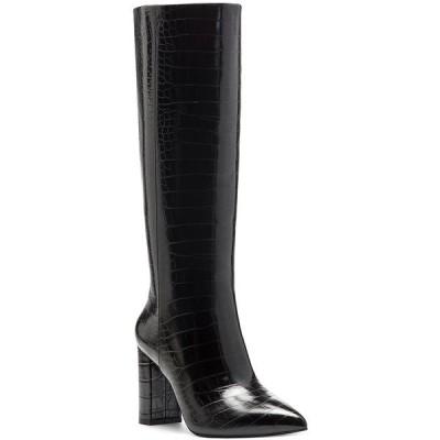 アイエヌシーインターナショナルコンセプト ブーツ&レインブーツ シューズ レディース INC Paiton Block-Heel Boots Black Croc
