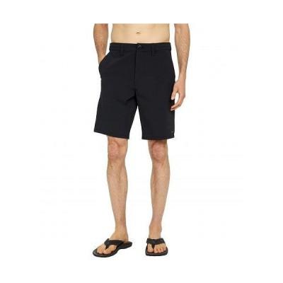 "Volcom ヴォルコム メンズ 男性用 ファッション ショートパンツ 短パン Bohnes 20"" Hybrid Shorts - Black"