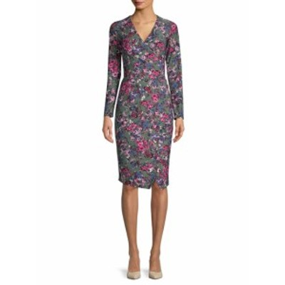 レイチェルレイチェルロイ レディース ワンピース Floral  Tie-Waist Wrap Dress