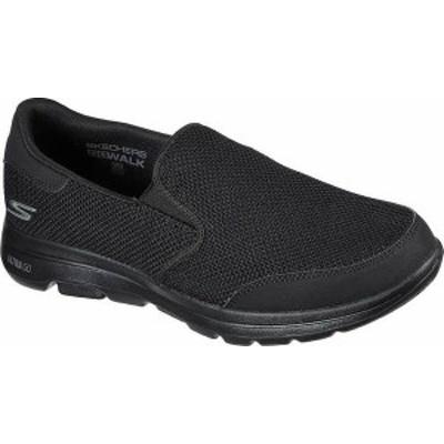 スケッチャーズ メンズ スニーカー シューズ Men's Skechers GOwalk 5 Beeline Sneaker Black/Black