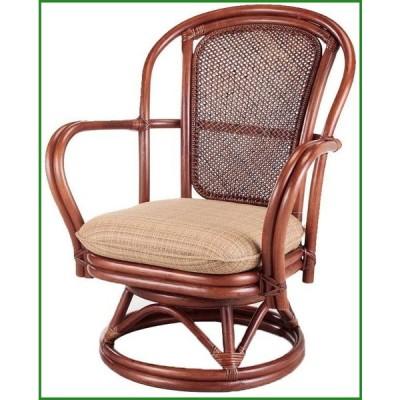 送料無料 今枝ラタン 籐 シーベルチェア 回転椅子 ブルース A-230SD|b03