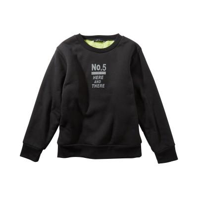 あったか裏ボアプリントトレーナー(男の子 子供服・ジュニア服) (トレーナー・スウェット)Kids' Sweatshirts