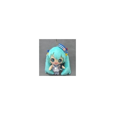 中古キーホルダー・マスコット(キャラクター) 初音ミク(白ワンピース) Summer image マスコット 「初音ミク」
