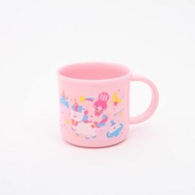 子ども用コップ ユニコーン 食洗機対応プラコップ ユニコーン/KE4A 子ども 子供 キッズ コップ マグカップ 飲料用 うがい用 お弁当用