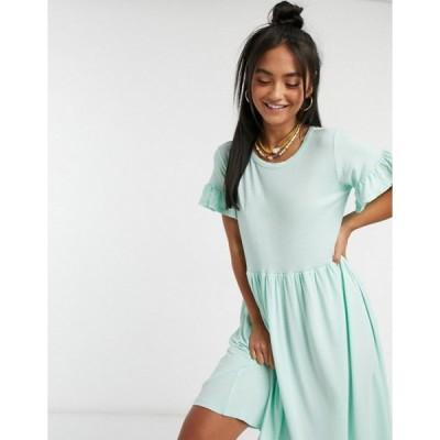 ウェンズデーガール レディース ワンピース トップス Wednesday's Girl relaxed smock dress in pastel