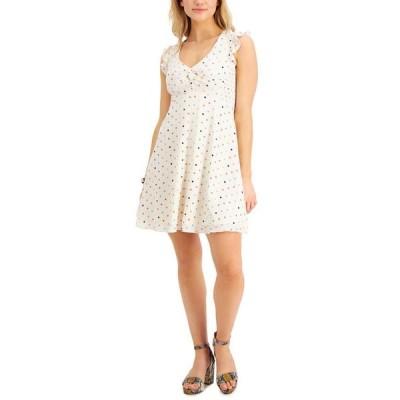 バースリー レディース ワンピース トップス Printed Fit & Flare Dress