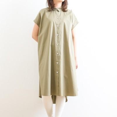アリュメール Allumer フレアシルエットシャツワンピース Flare Silhouette Shirt Dress 8274206 レディース ワンピース 半袖 シャツワンピース